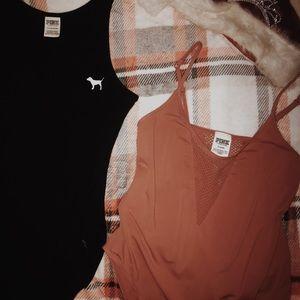 PINK whole body shirts